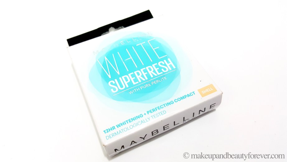 Maybelline White Super Fresh Compact with pure perlite Shell