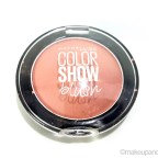 Maybelline ColorShow Blush Creamy Cinnamon Review Swatches