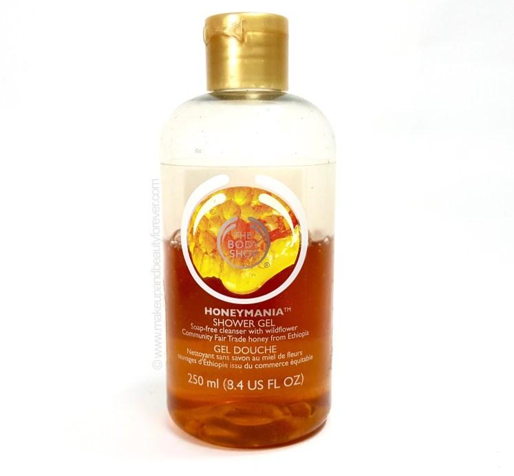 The Body Shop Honeymania Shower Gel Review beauty blog