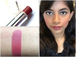 Colorbar Velvet Matte Lipstick Over The Top 1 Review, Swatches