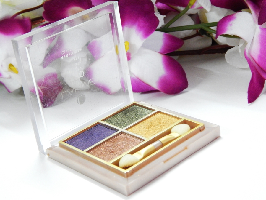 Lakme 9 to 5 Eye Quartet Eyeshadow Palette Tanjore Rush Review Swatches