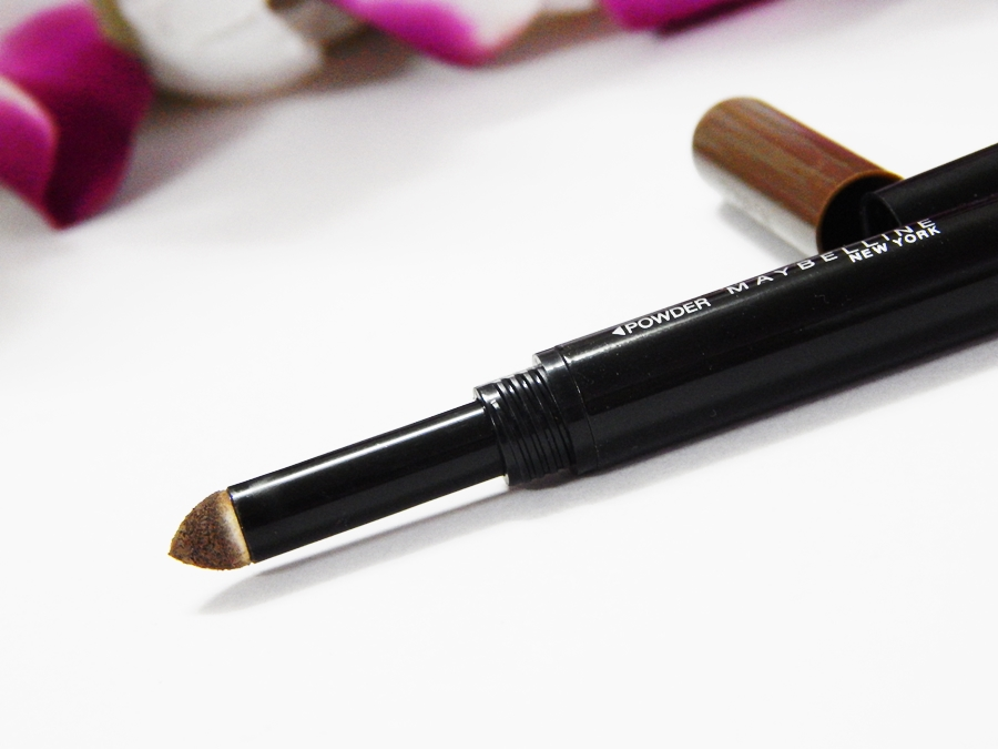 Maybelline Fashion Brow Duo Shaper Brown Review side