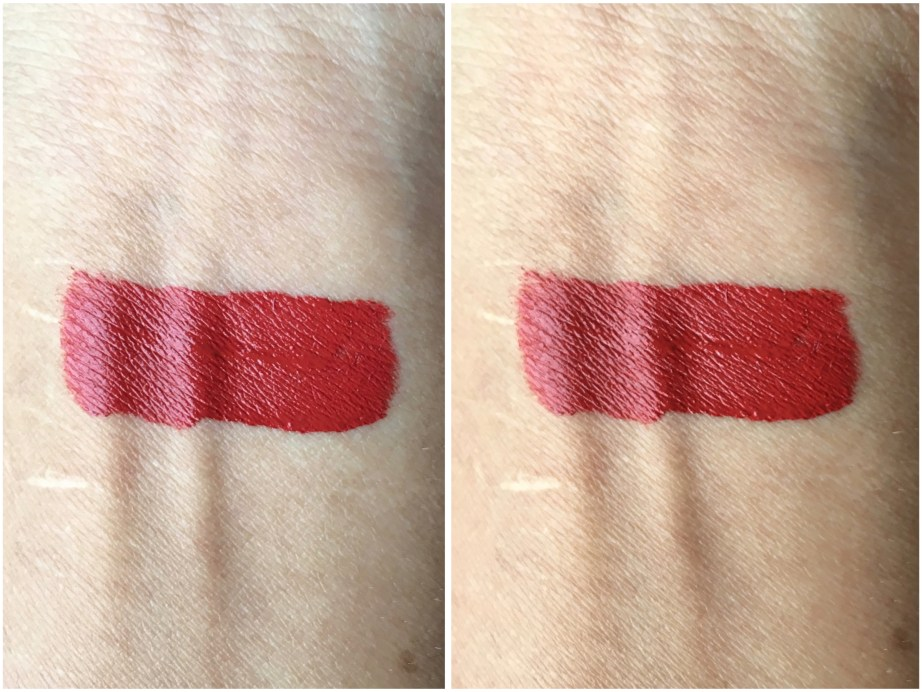 Chambor Extreme Wear Liquid Lipstick Shade 432 Review Swatches on hand