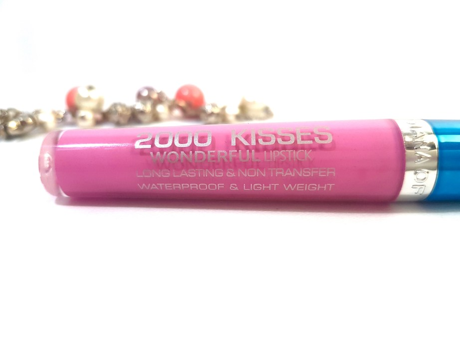 Diana Of London 2000 Kisses Wonderful Lipstick Immortality Review Swatches