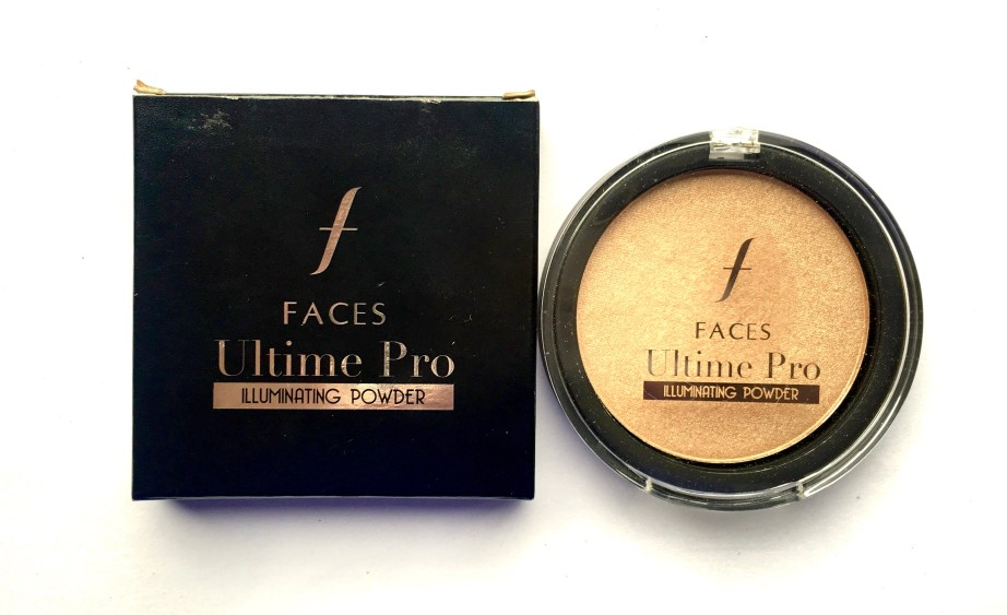 Faces Ultime Pro Illuminating Powder Highlighter Review MBF