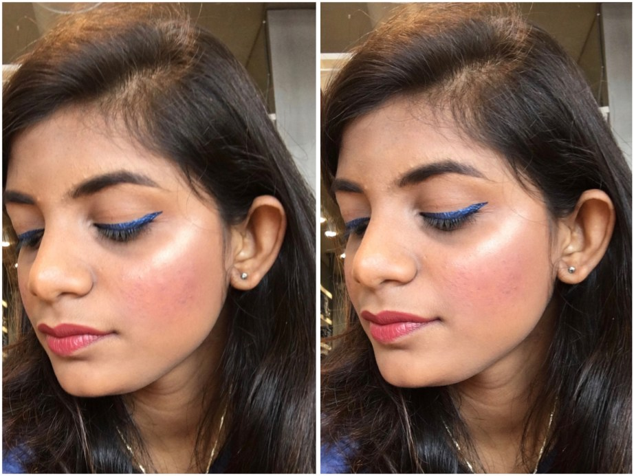 Faces Ultime Pro Illuminating Powder Highlighter Review Swatches MBF Makeup Look