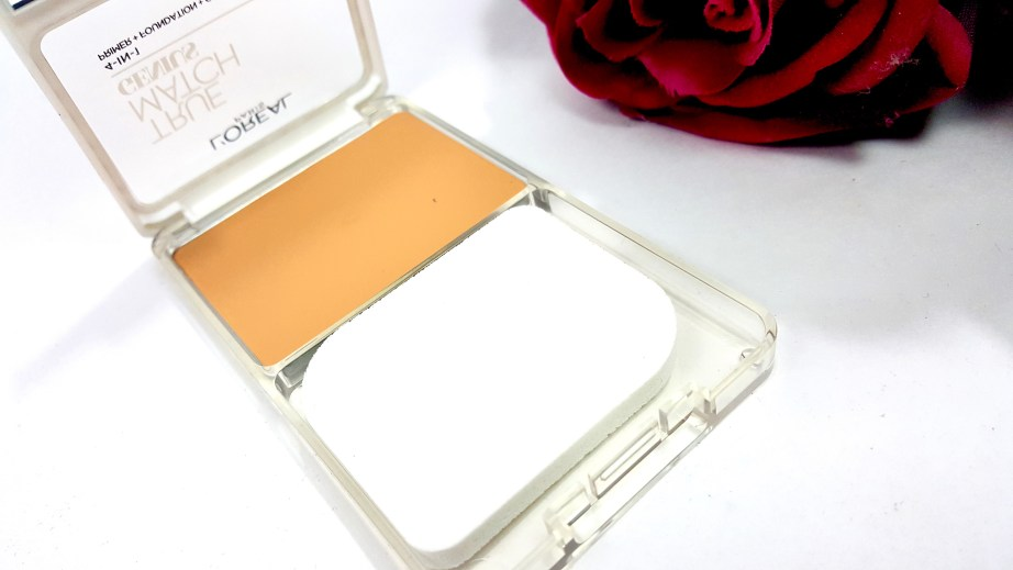 L'Oreal True Match Genius 4-In-1 Compact Foundation Review Swatches blog mbf
