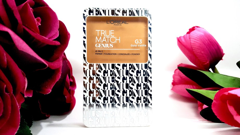 L'Oreal True Match Genius 4-In-1 Compact Foundation Review Swatches
