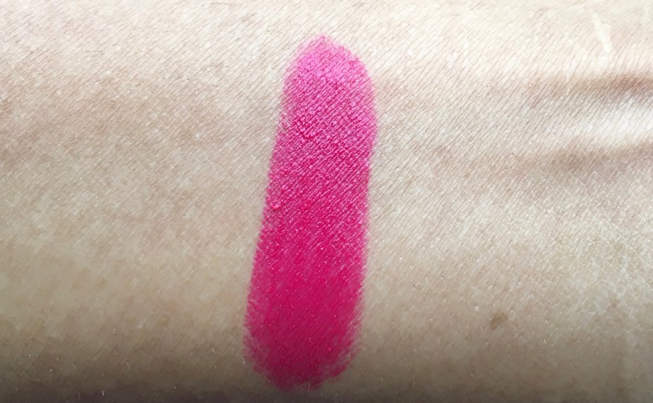 Lakme Enrich Matte Lipstick PM 15 Review Swatches on hand