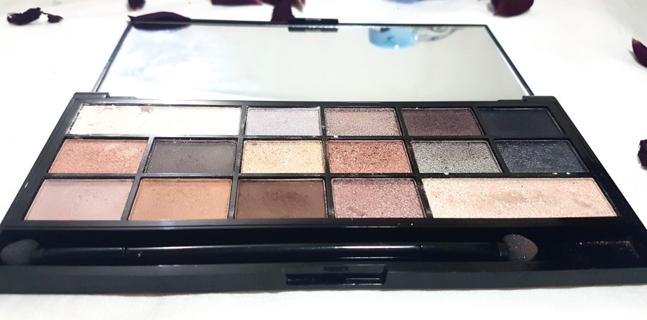 Makeup Revolution I Heart Makeup Naked Underneath Eyeshadow Palette Review Swatch