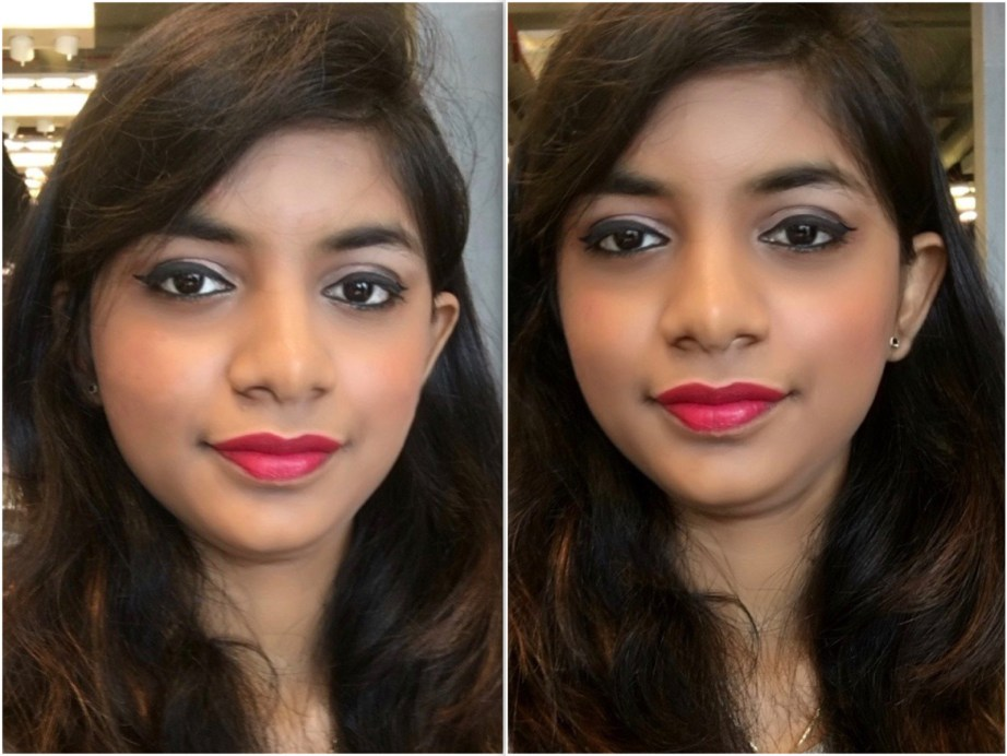 Maybelline Color Show Big Apple Red Creamy Matte Lipstick Pink My Red 208 Review swatches