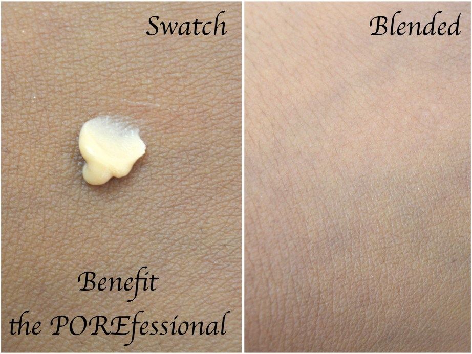 Benefit the POREfessional Makeup Primer Review Demo Before After