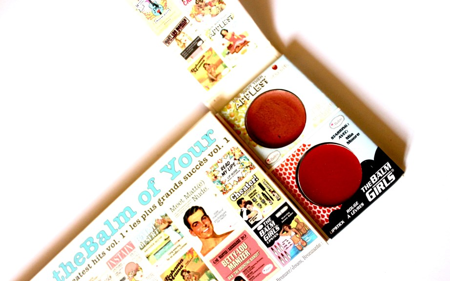 In the Balm of Your Hand Palette Review Swatches Lipstick Lip Stain