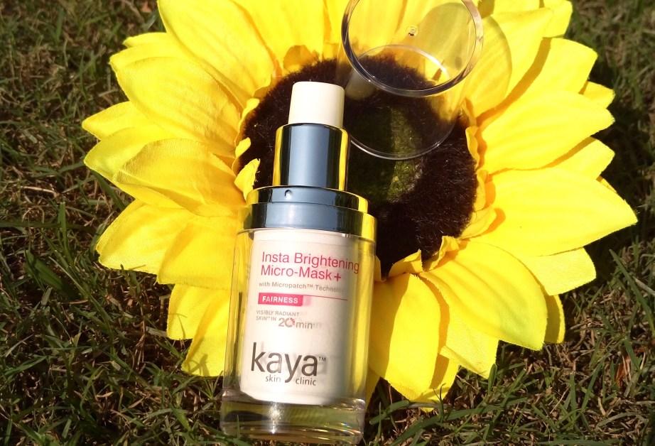 Kaya Insta Brightening Micro Mask Review Swatches MBF Blog