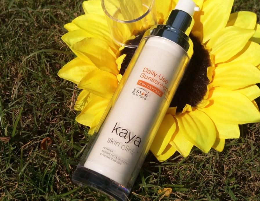 Kaya Skin Clinic Daily Use Sunscreen SPF 15 Review MBF Blog