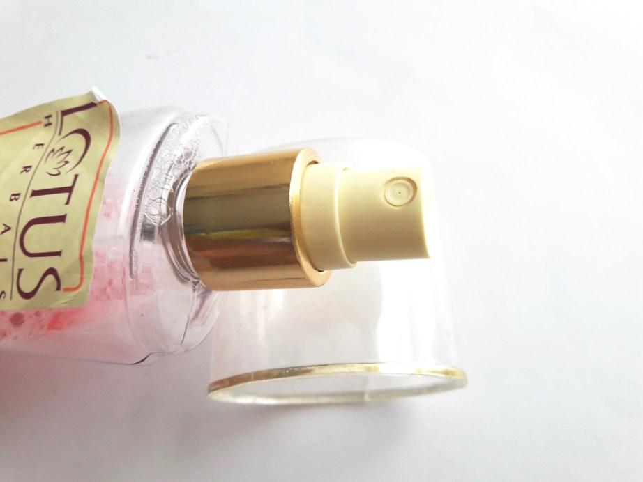 Lotus Herbals Rosetone Facial Skin Toner Review spray