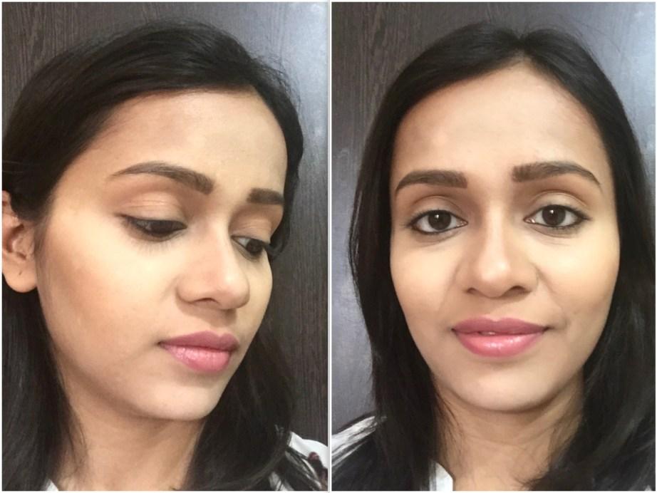 Makeup Revolution Ultra Cream Contour Palette Review Swatches MBF makeup look