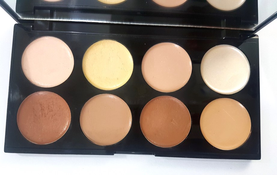 Makeup Revolution Ultra Cream Contour Palette Review Swatches MBF