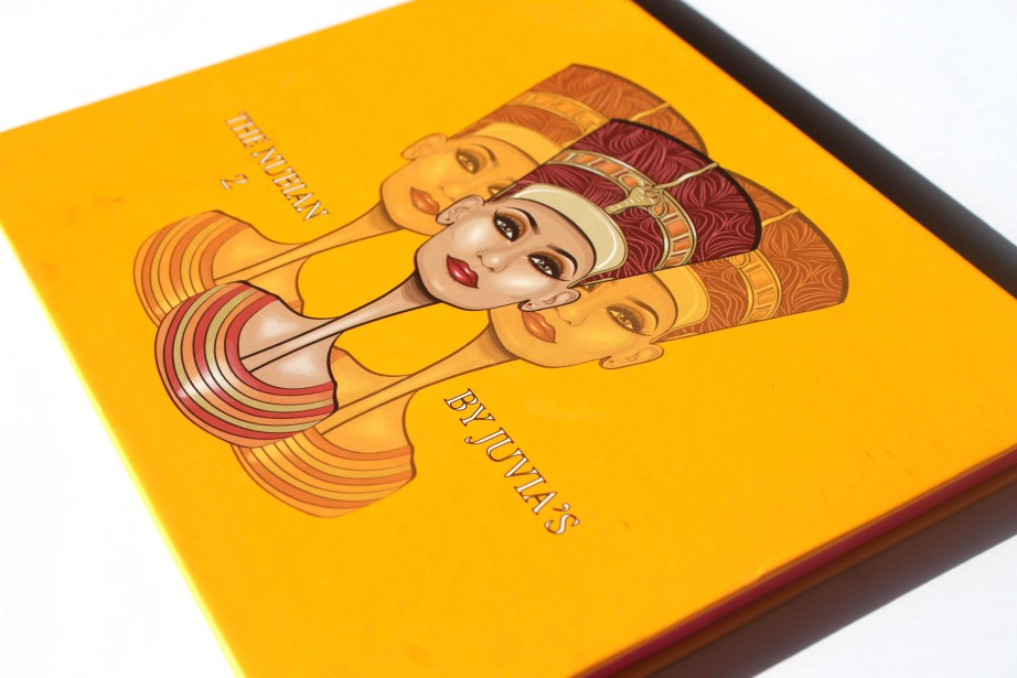 Juvia's Place Nubian 2 Yellow Eye Shadow Palette Review Swatches side