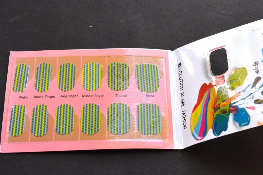 Nertia Nail Art Stickers