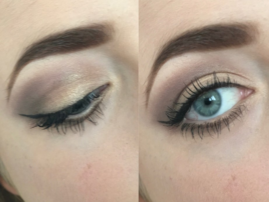Urban Decay Naked 2 Eyeshadow Palette Review Swatches MBF Eye Makeup Look
