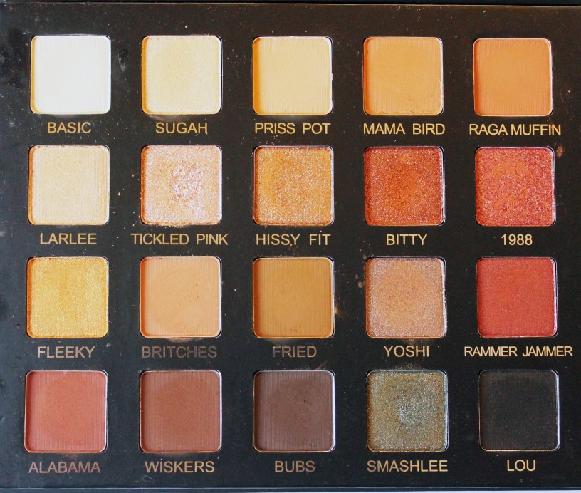 Violet Voss x Laura Lee Eye Shadow Palette Review Swatches All the Shades