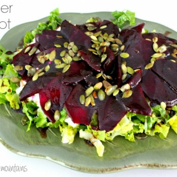 Summer Beet Salad @ making it in the mountains