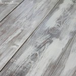 How to Whitewash Wood :: Making over our Pottery Barn Inspired Table
