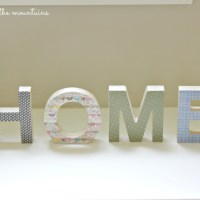 DIY {HOME} Sign: Guest Post at Blissful & Domestic