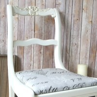 Chalk Paint Upcycled Chair