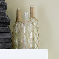How to Make your own Knotted Jute Bottles