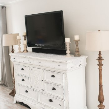 Distressed TV Cabinet