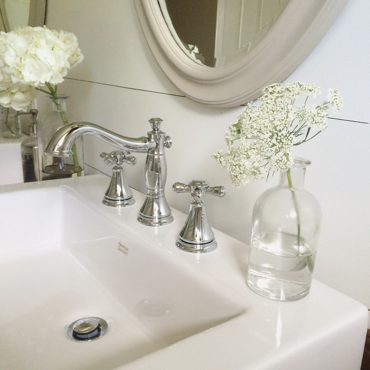One Room Challenge {Week Six}: A Farmhouse Style Bathroom Reveal