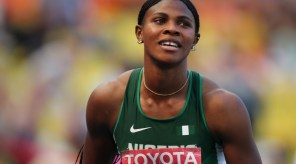 Blessing Okagbare has begun her 2015 season with the 400m event