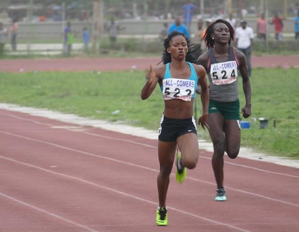 Nkem Ezeala emerged the women's 100m/200m champion.