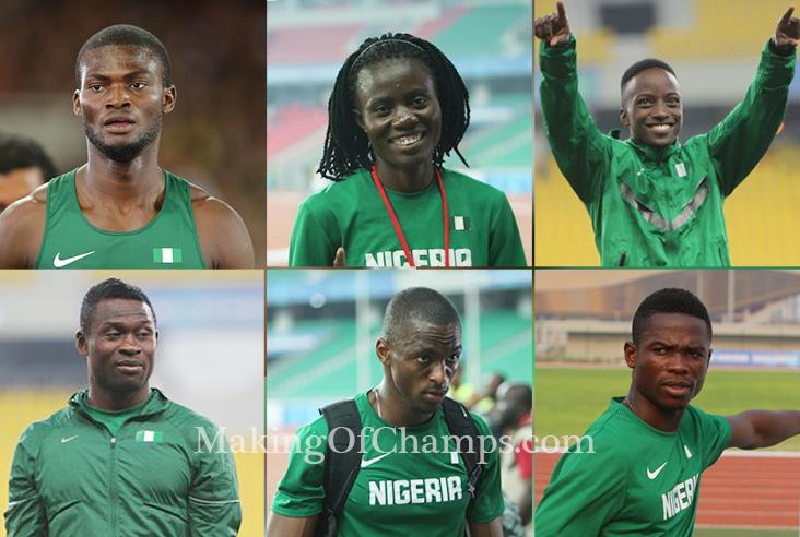 2015 World Championships, Congo Brazzaville 2015