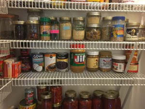 pantry shelves 3 and 4