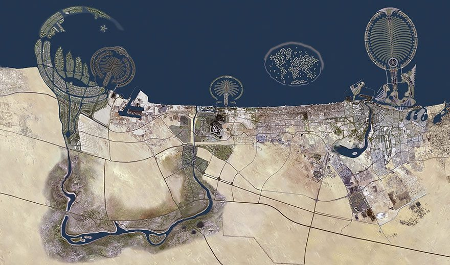 Artificial-Islands-Dubai