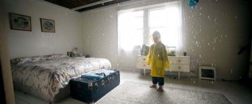 raining inside home