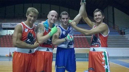 L'Audax Boxe al Torneo senior di Fabriano