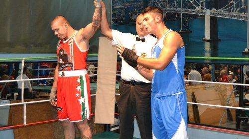 Riunione della Audax Boxe alla Big Gym di Pesaro