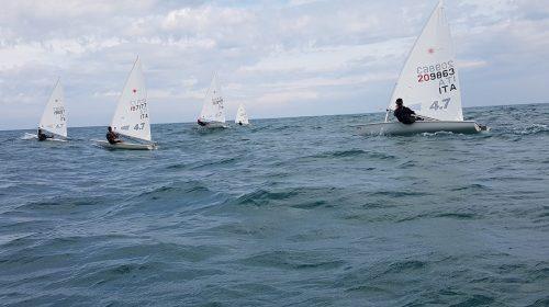 Due weekend impegnativi per la squadra Laser del Team Sailing Senigallia-Marotta