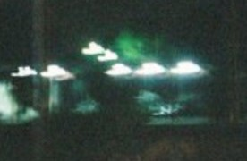 Mysterious Unknown Floating White Anomalies