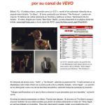 """Lui-G 21+ estrena el video de """"Un Beso"""" por su canal de VEVO"""