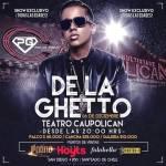 De La Ghetto en el Teatro Caupolican 6 De Diciembre (Chile)
