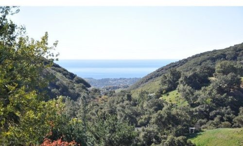 Latigo Canyon Land for Sale in Malibu CA