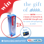 Butt Hurt The gift of #ahhh with the #HemoclinComfortKit Giveaway