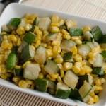 Zucchini And Corn: Delicious Mexican Sidedish