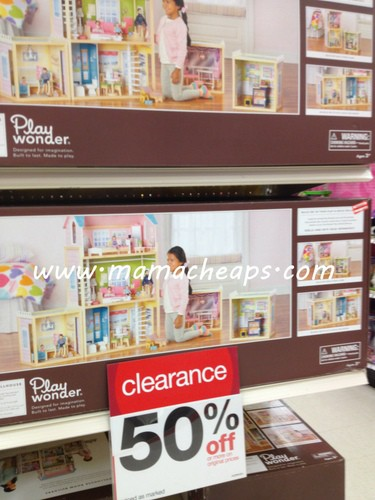 target play wonder doll house