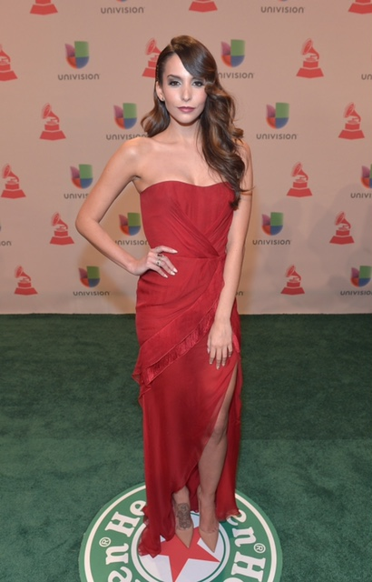 L'Oreal Paris Announces Their New Latina Spokesperson Genesis Rodriguez At The 2014 Latin GRAMMY's